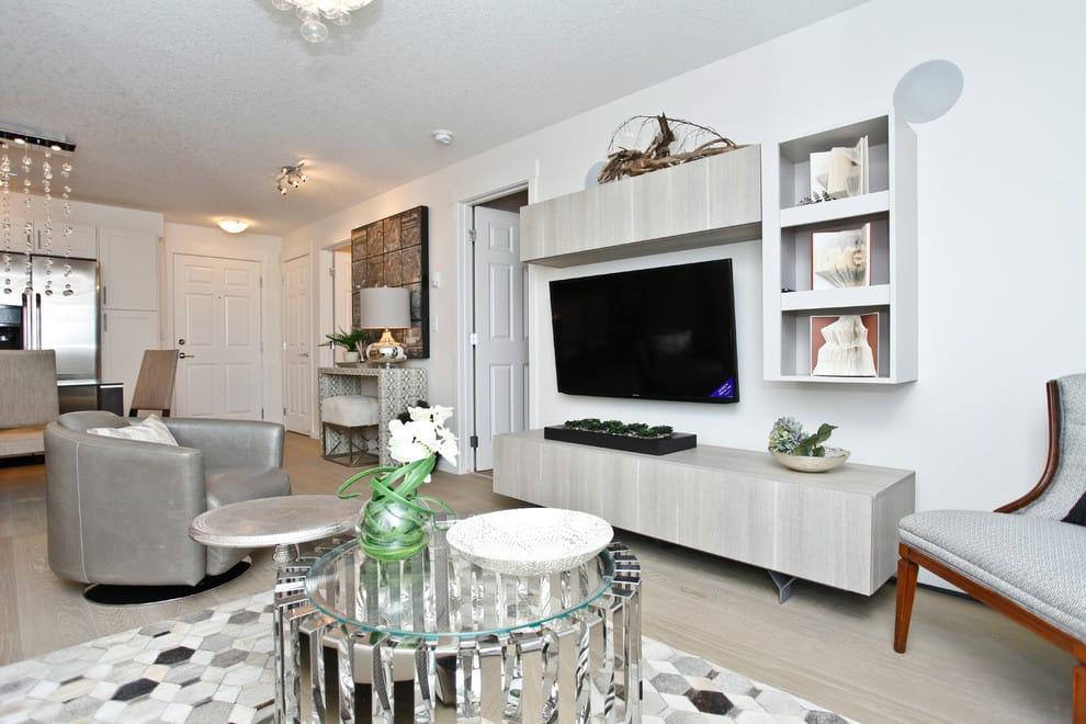 Interior Design by ANA Interiors Ltd at Copperfield Park III, Calgary - Interior Design