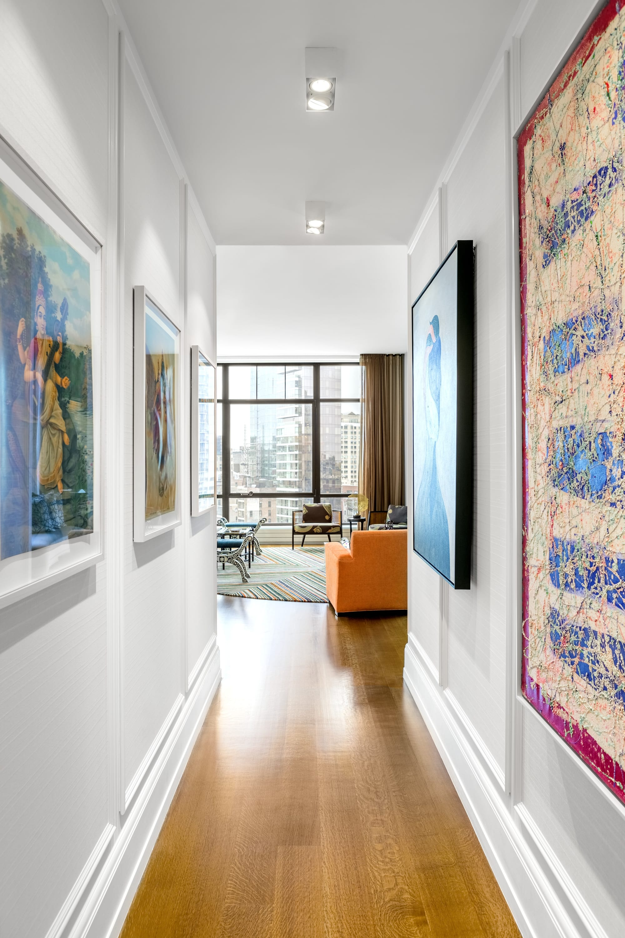 Interior Design by Michael Wood Interiors seen at Private Residence, New York - 10 Madison Square West
