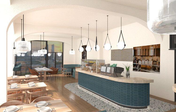 Interior Design by STEWART + HIGHFIELD seen at South End Social, Gosford - Interior Design