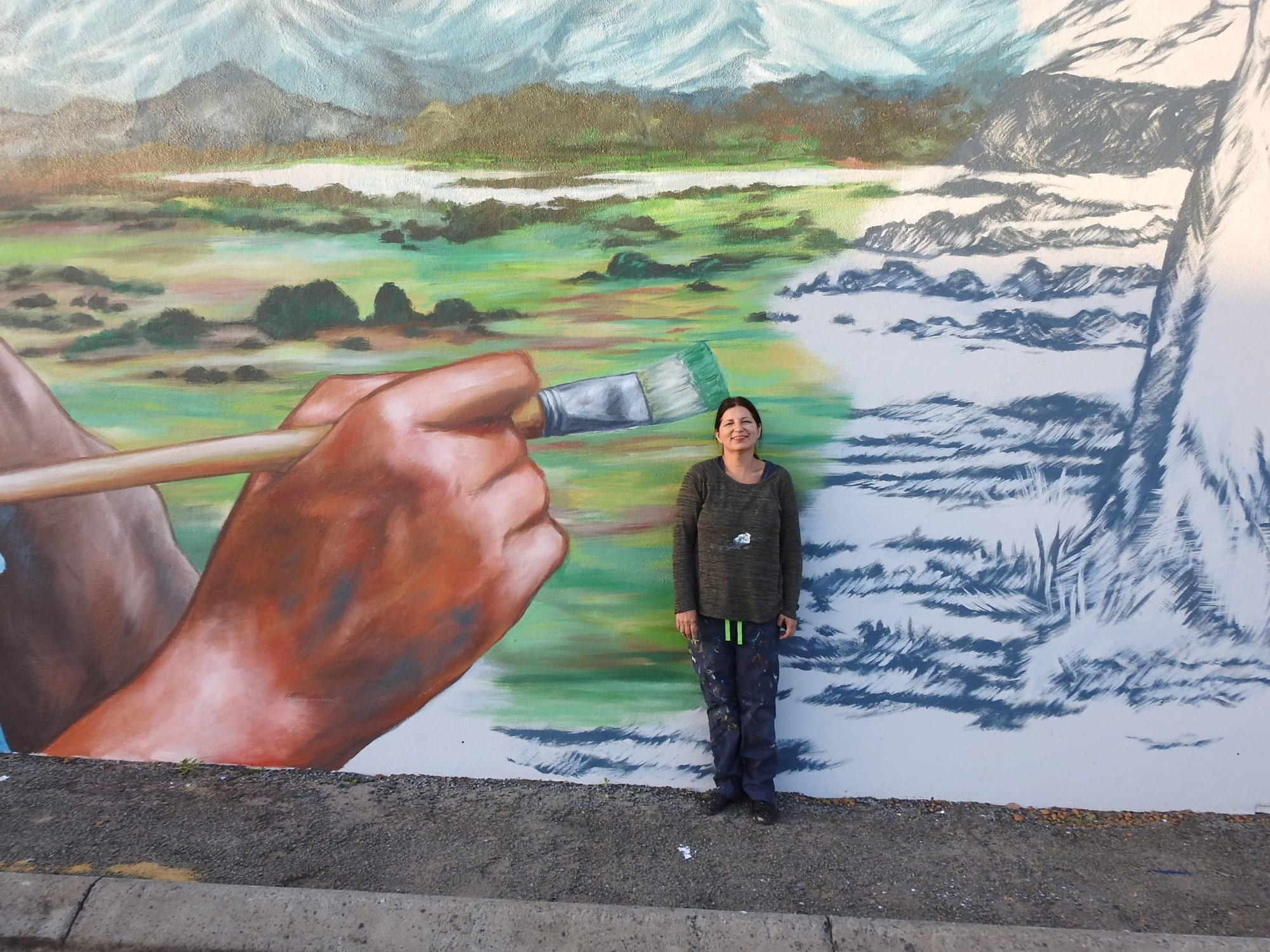 Street Murals by Anat Ronen seen at Mount Barker, Mount Barker - Bella Kelly mural