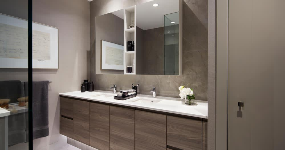 Interior Design by BBA Design Consultants Inc. seen at Pier West, New Westminster - Interior Design