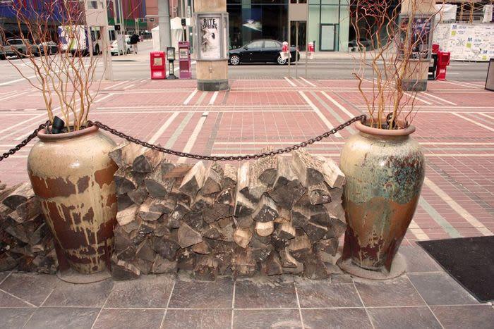 Fireplaces by John T Unger seen at Nada, Cincinnati - Big Bowl O' Zen