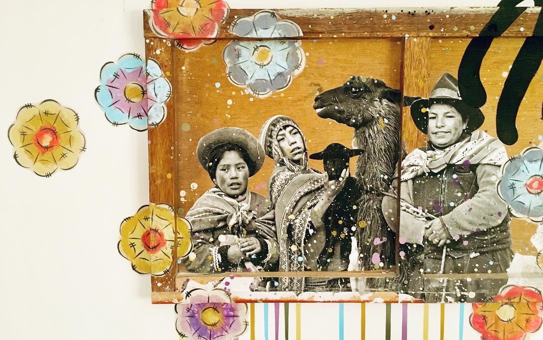 Murals by pepallama seen at Selina Cusco Saphi, Cusco - Munay • Amor • Love