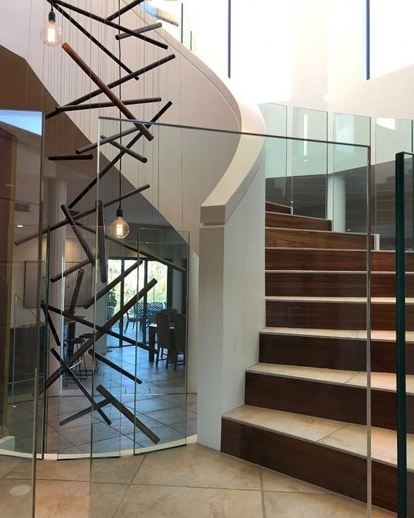 Sticks Custom 8 Metre Installation By Ilanel Design Studio Seen At Private Residence Toowoomba Wescover