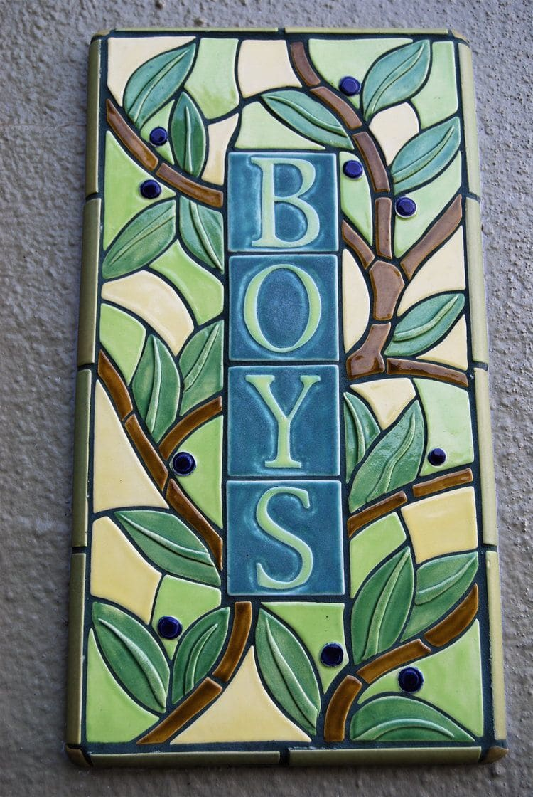 Tiles by Aileen Barr seen at Alta Plaza Park, San Francisco - Alta Plaza Playground