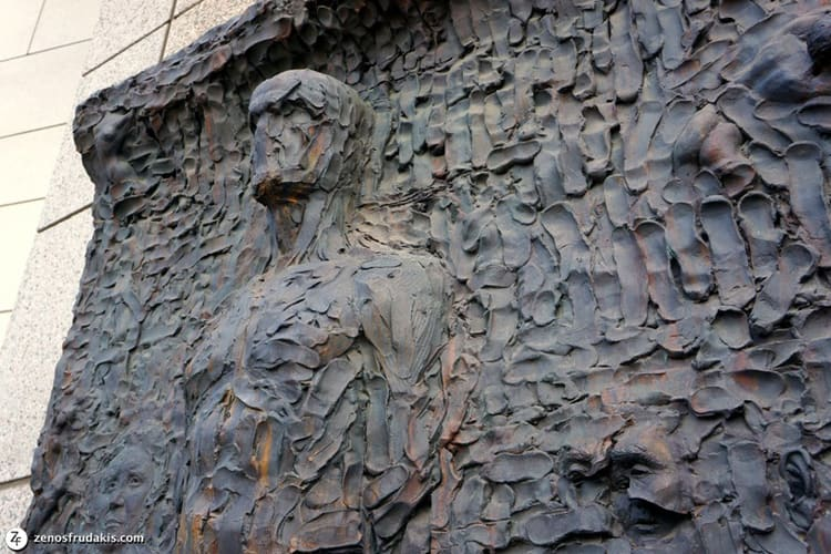 Public Sculptures by Zenos Frudakis at North 16th Street, Philadelphia - Freedom Sculpture