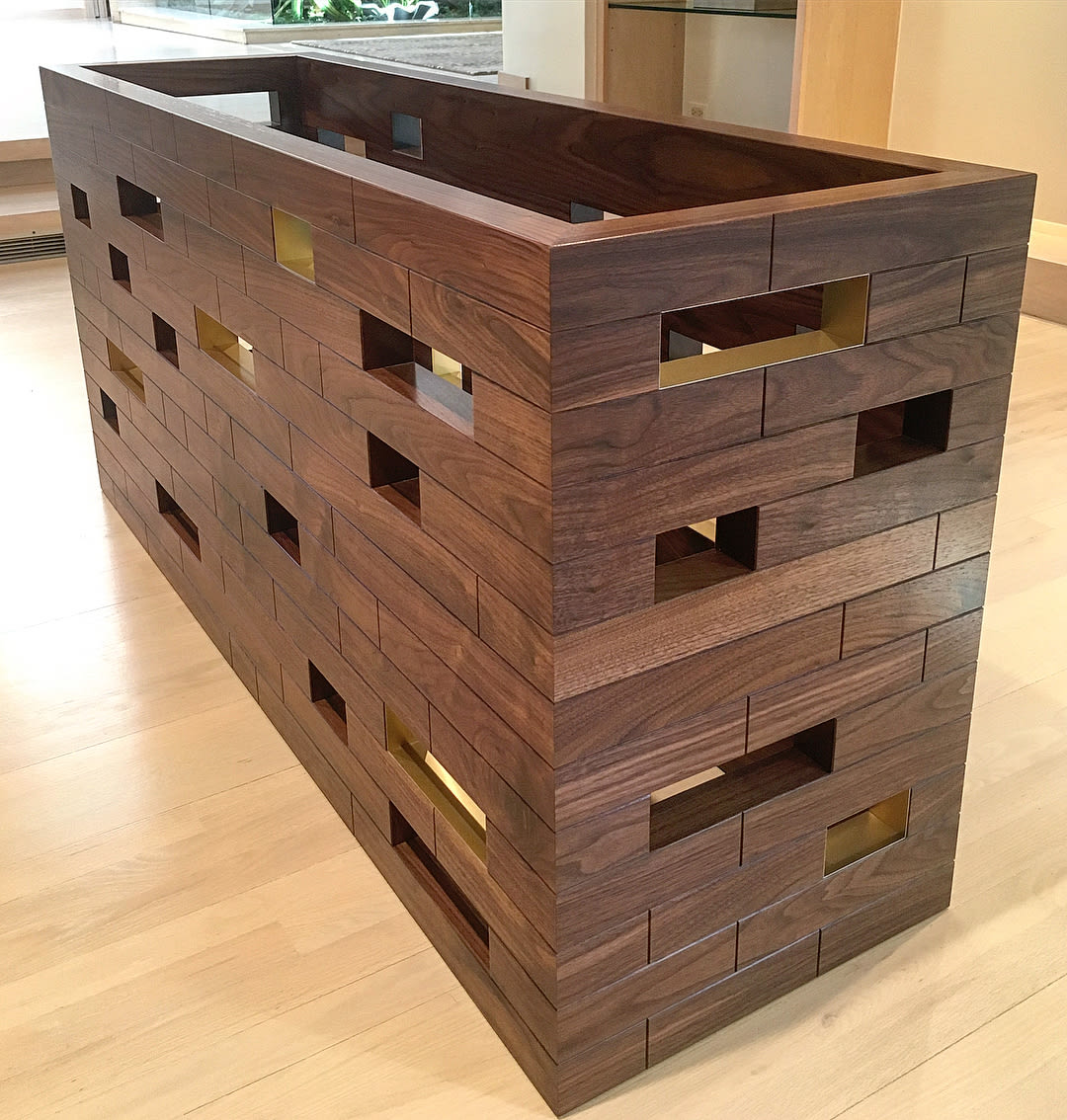 Tables by Rohan Ward seen at Private Residence, Winnetka - Missing Brick
