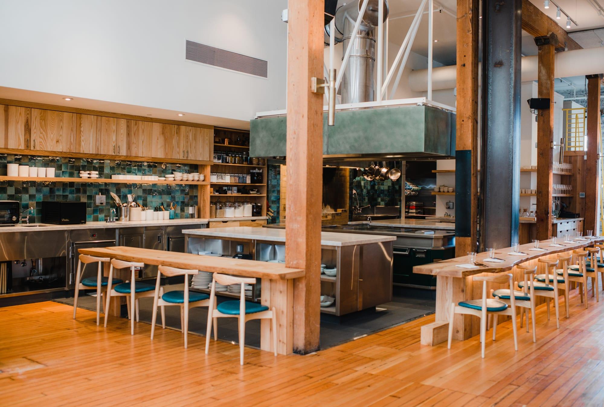 Furniture by Maxfield Johnson seen at Birdsong, San Francisco - Custom Woodwork