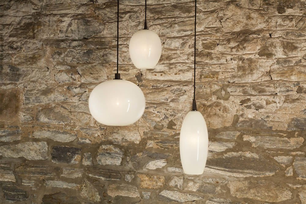 Pendants by TOKENLIGHTS seen at Hog Island Oyster Co, San Francisco - Hog Island Oyster Co.