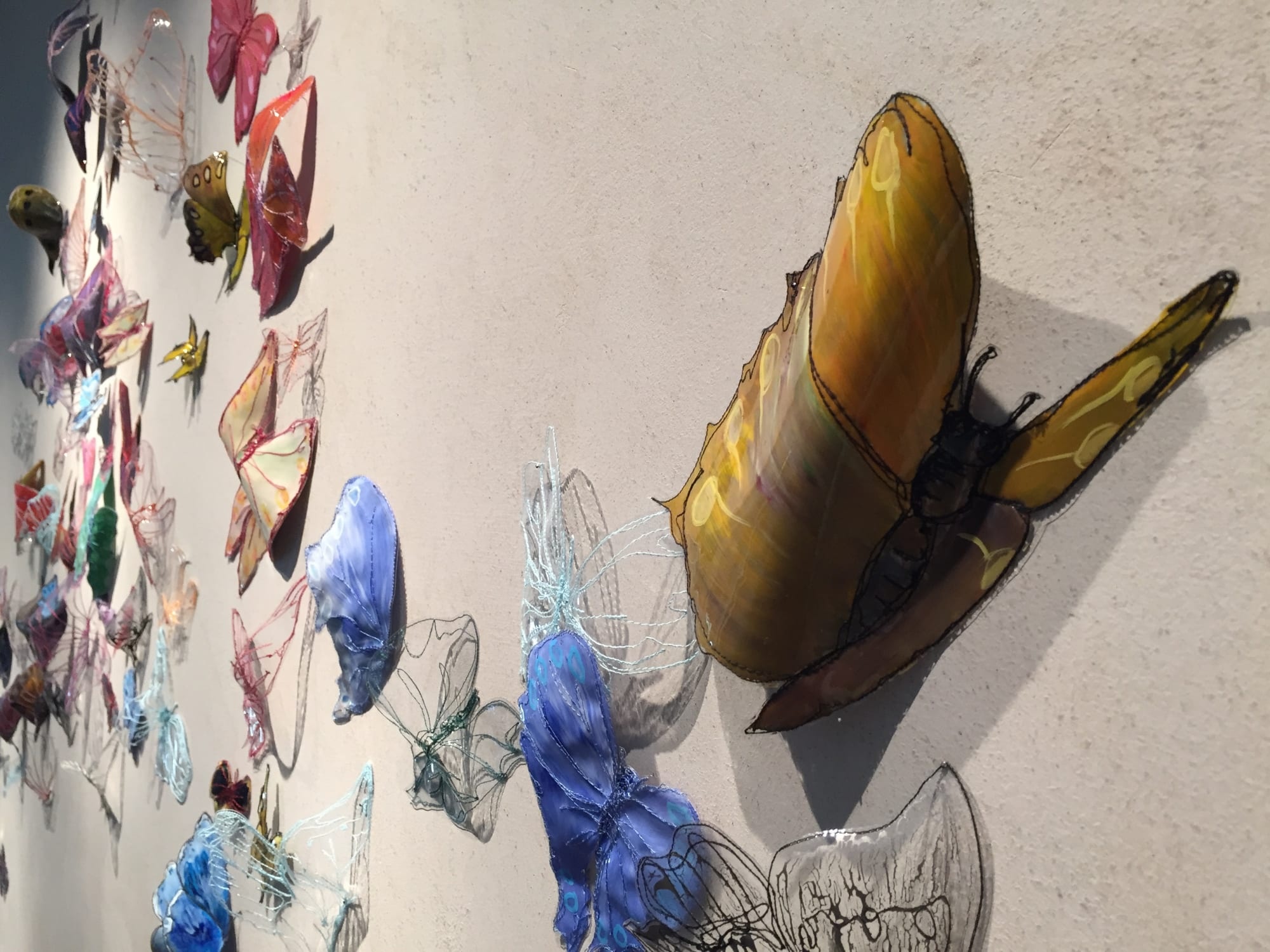 Wall Hangings by Leisa Rich at Private Residence, Omaha - Follow The Wind Wherever It Blows
