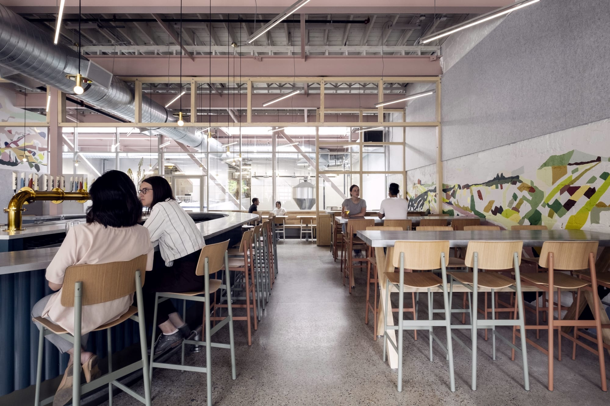 Architecture by LAMAS Architecture seen at Avling Kitchen and Brewery, Toronto - Avling Kitchen & Brewery
