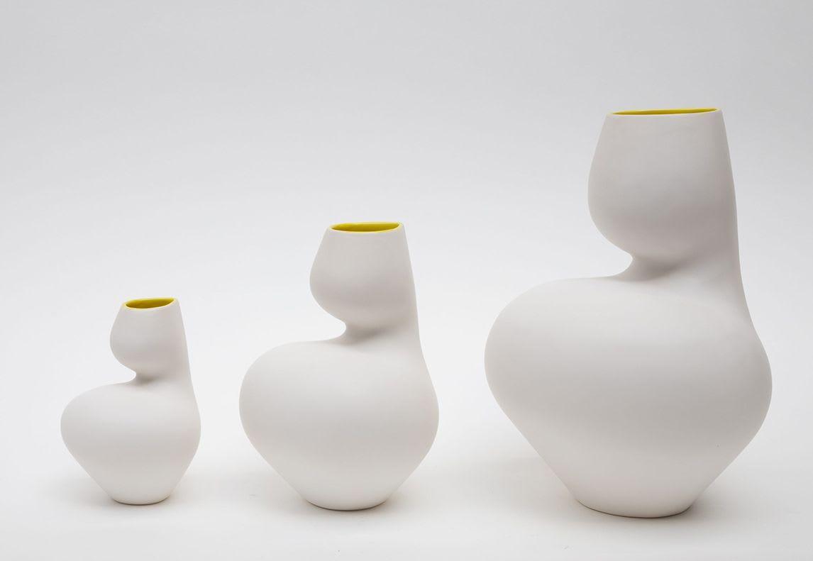 Vases & Vessels by Satyendra Pakhalé seen at Cor Unum, 's-Hertogenbosch - Frida pitcher Vase