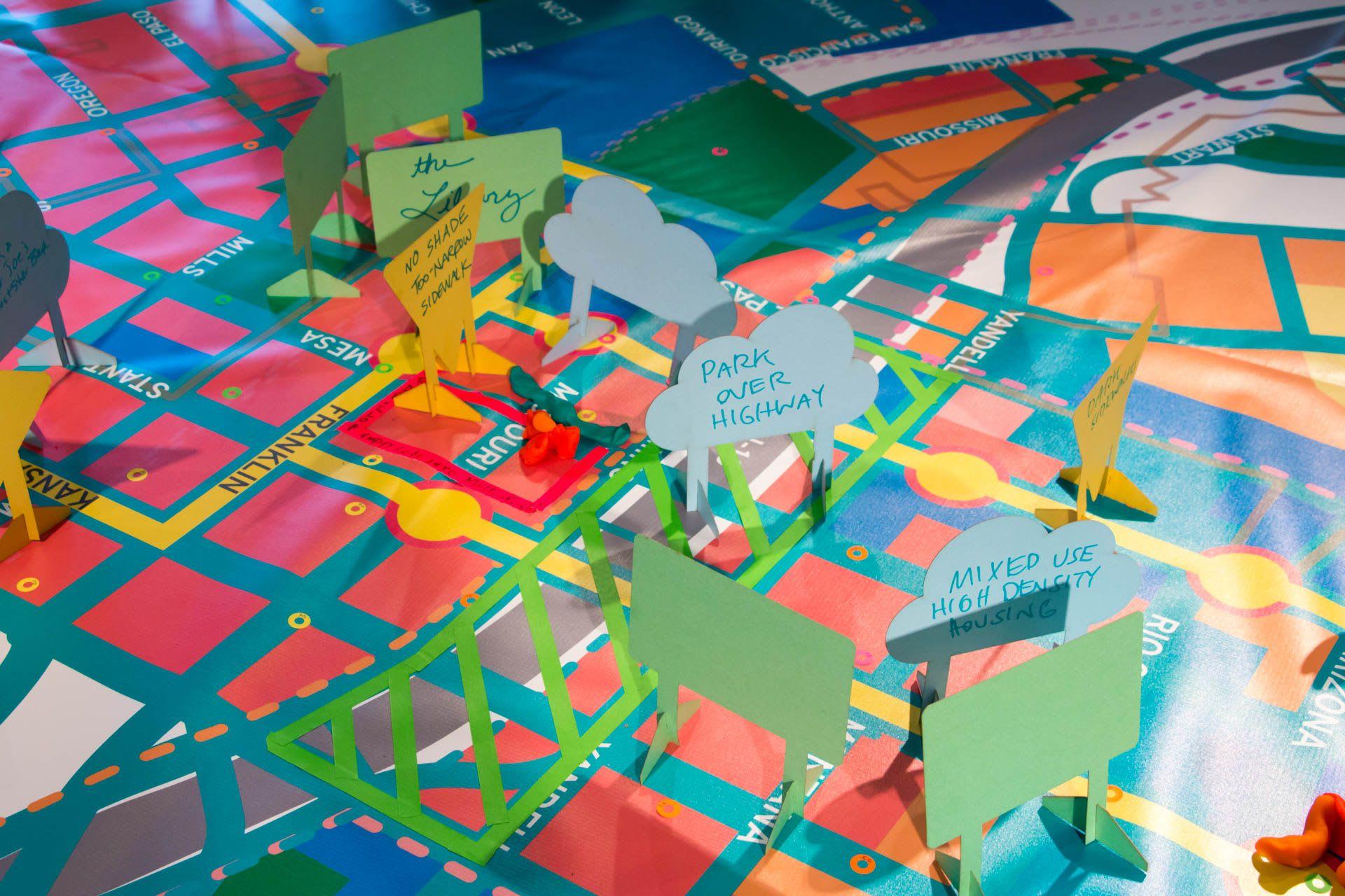Public Art by Graham Projects seen at El Paso Museum of Art, El Paso - El Paso Crafting the Corridor
