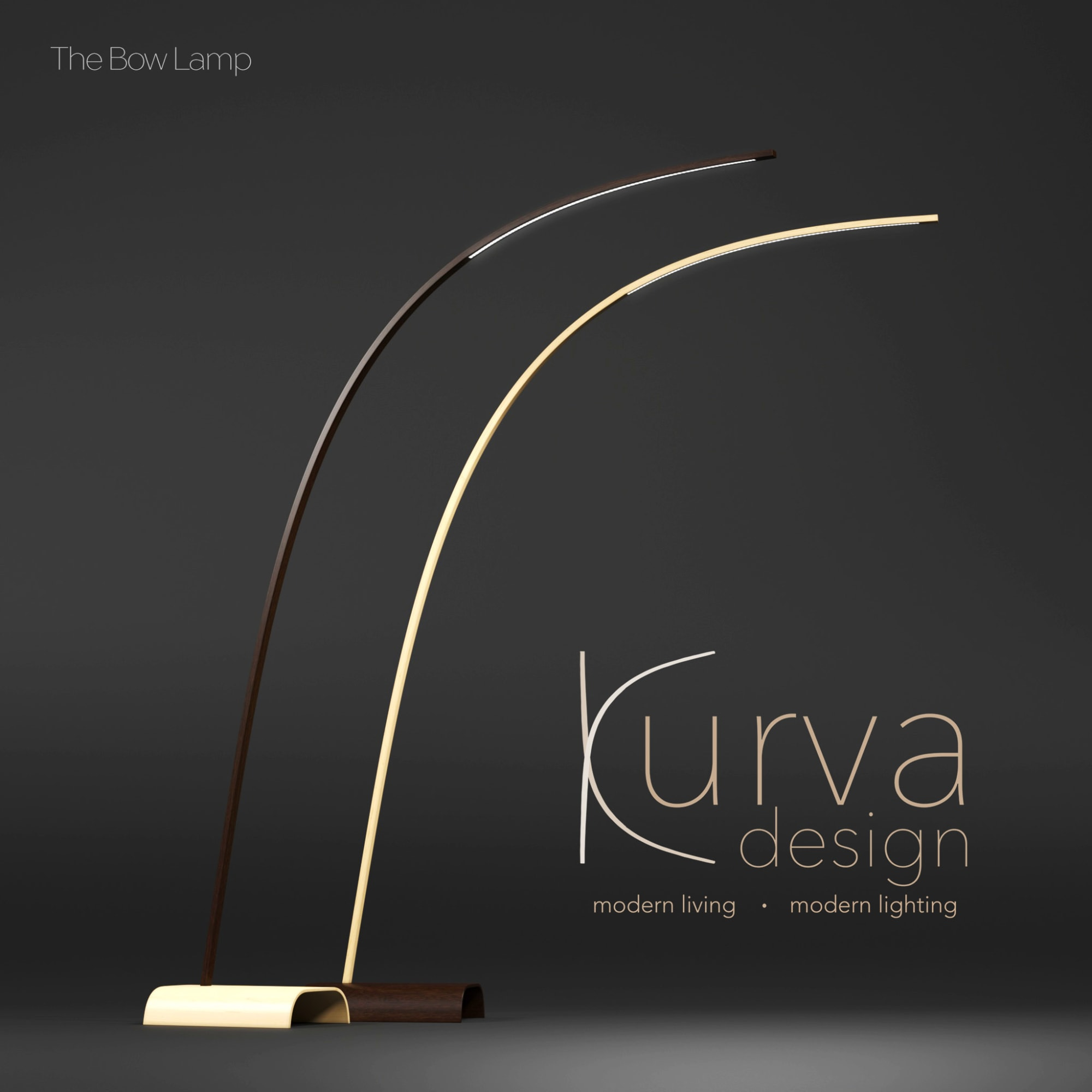 Lamps by Kurva Design at Private Residence, Vancouver - Bow Lamp