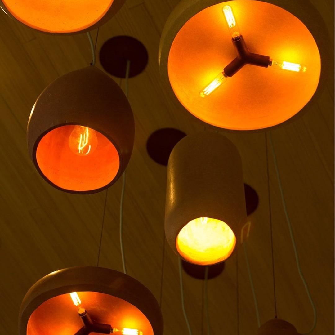 Pendants by Brandon Mike seen at ATX Cocina, Austin - Pendant Lighting