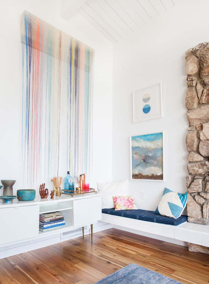 Wall Hangings by Nike Schroeder Studio seen at Emily Henderson Residence, Glendale/Los Angeles, Glendale - Emily Henderson Remodel