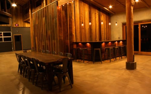 Interior Design by FOLK at Yale Creek Brewery, Ashland - Interior Architecture
