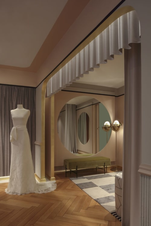 Interior Design by Claude Cartier Decoration seen at Nicolas Couture Fafiotte, Lyon - Interior Design