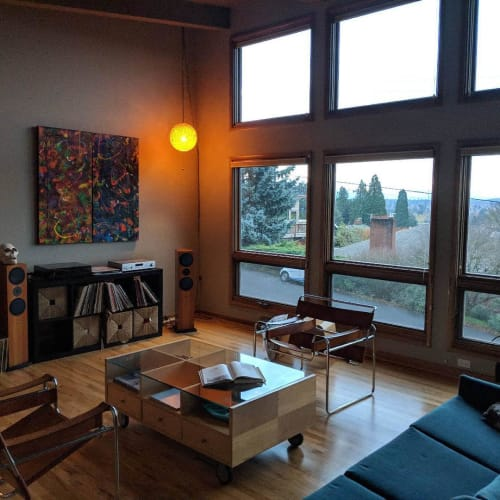 Paintings by Julie Shunick Brown seen at Private Residence, Seattle - Paintings