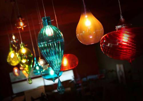 Pendants by Cangini & Tucci seen at Riccione, Riccione - Blown Glass Pendants