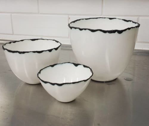 Cups by Manos Kalamenios at Private Residence, Doncaster - Volcanic Trio