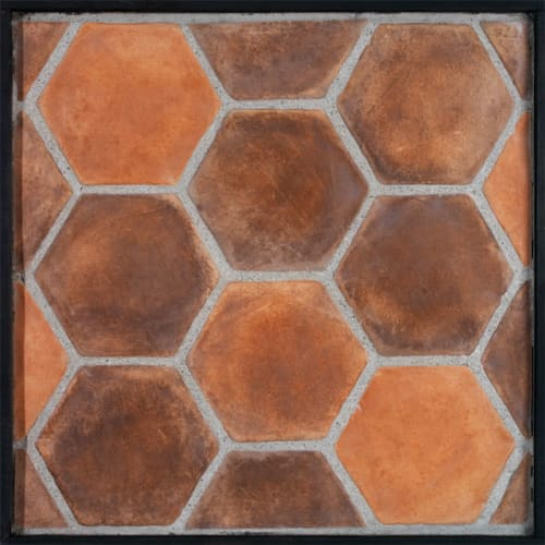 Tiles by ARTO seen at Zinqué, West Hollywood - Hexagon Cement Tiles