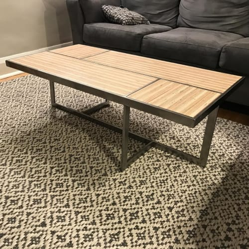 Tables by Fallout Custom Furniture seen at Private Residence, Toronto - Los Alamos Coffee Table