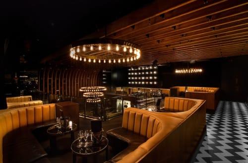 1 OAK, Night Clubs, Interior Design