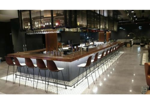 Chairs by Sol&Luna seen at MOXY Denver Cherry Creek, Denver - Stool Hovy (PN811B)