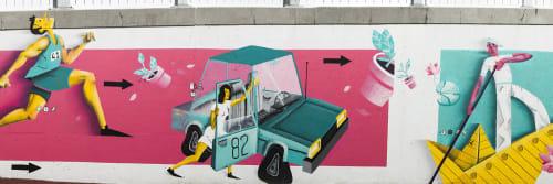 Boris Biberdzic - Street Murals and Murals