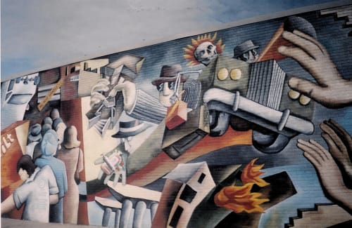 John Pitman Weber - Murals and Art