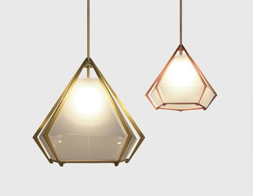 Pendants by Gabriel Scott at Deming Place, Chicago, Chicago - Harlow Pendant