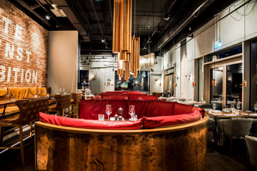 La Bohème Schwabing, Restaurants, Interior Design