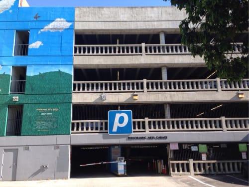 Performing Arts Garage - Lot #201, Public Service Centers, Interior Design