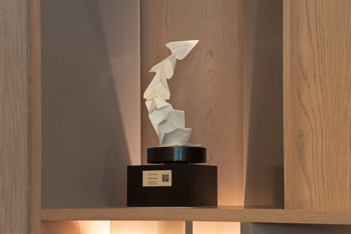 Sculptures by Kevin Box seen at H Hotel Los Angeles, Curio Collection by Hilton, Los Angeles - Folding Planes
