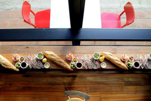 Tableware by Walter Manzke seen at République, Los Angeles - Charcuterie Boards