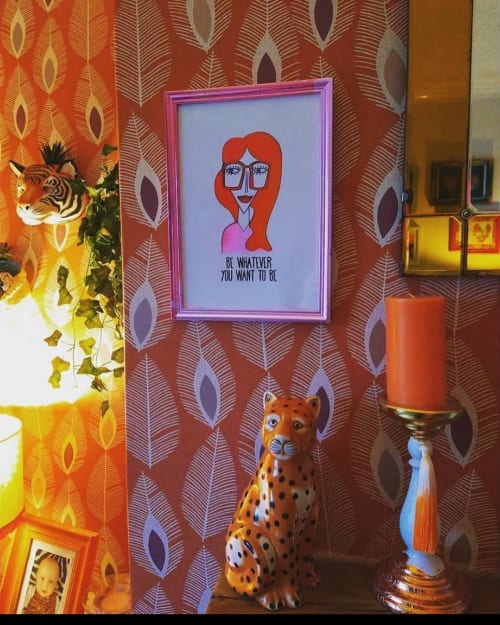 Art & Wall Decor by HANNAH SHILLITO ART seen at Creator's Studio, Brighton - BE WHATEVER YOU WANT TO BE