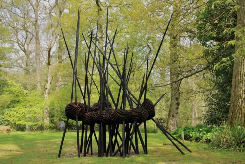 Public Sculptures by Walter Bailey Sculpture seen at Private Residence - Sculpture