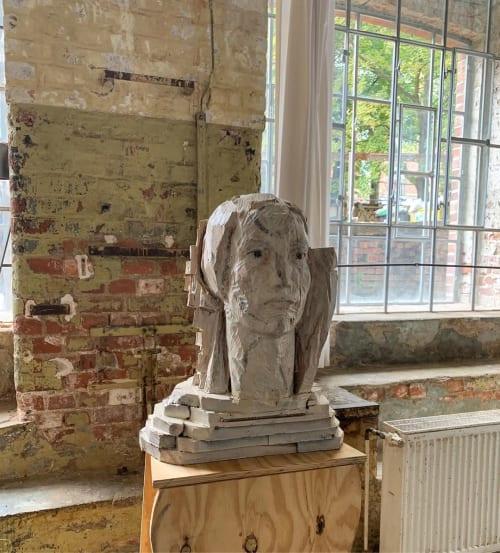 Public Sculptures by Laura Eckert seen at Leipziger Baumwollspinnerei, Leipzig - Wood Sculpture