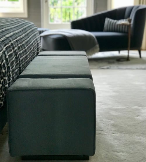 Benches & Ottomans by Casa Botelho seen at Private Residence, London - Ercole Bench