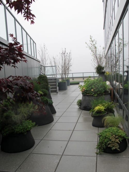 Vases & Vessels by Opiary seen at Private Residence, New York - Terrain Planters