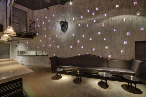 Interior Design by Chris Kofitsas seen at Backbar, New York - Interior Design