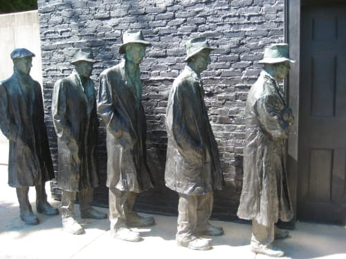George Segal - Public Sculptures and Public Art