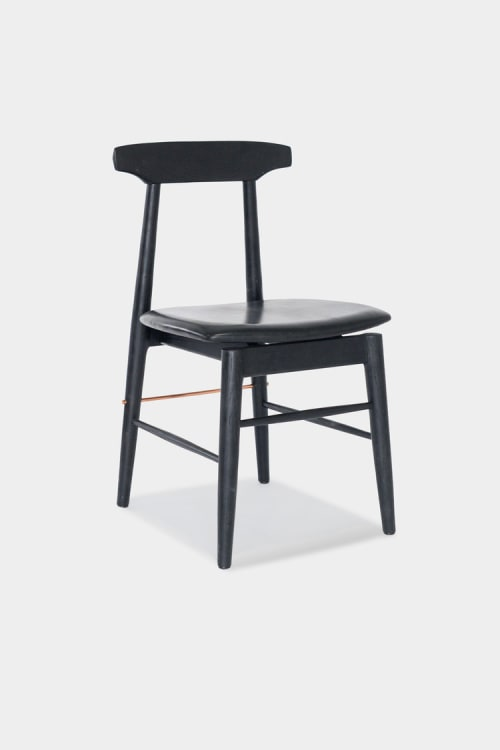 Chairs by Chris Earl seen at Otium, Los Angeles - Sable Dining Chair