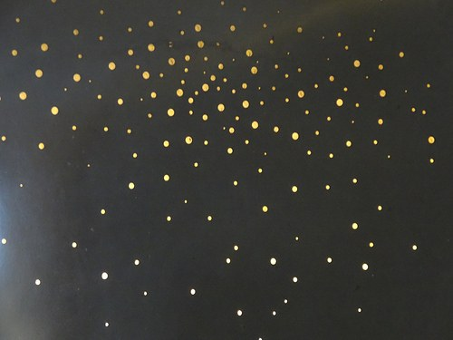 "Wall Treatments by Concreteworks at Roka Akor San Francisco, San Francisco - ""Starry Night"" Art Installation"