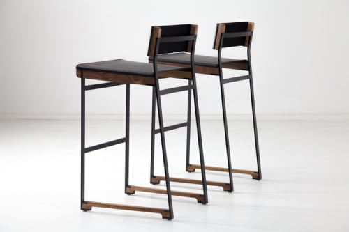 Chairs by Token at Momofuku Ko, New York - Diego Bar Stool