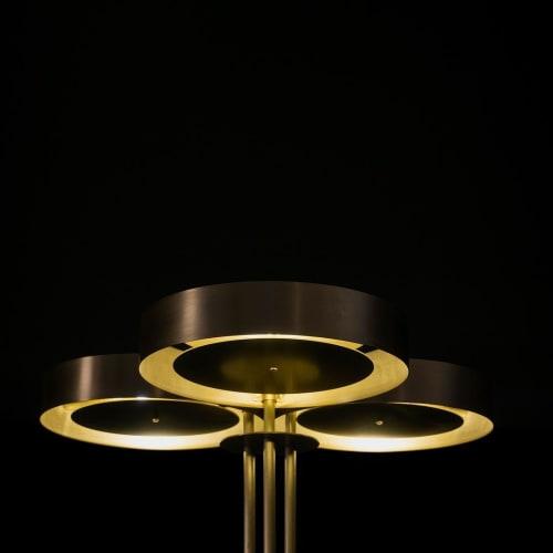 Lamps by Simon Johns seen at Terminal Warehouse, New York - Trillium Floor Lamp