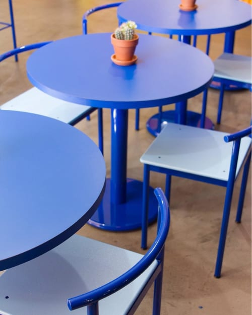 Chairs by Amigo Modern seen at The Saguaro Palm Springs, Palm Springs - Snack Series Chairs and Tables