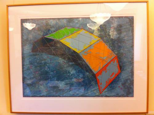 Paintings by Ronald Davis seen at San Francisco International Airport, San Francisco - Arc Arch