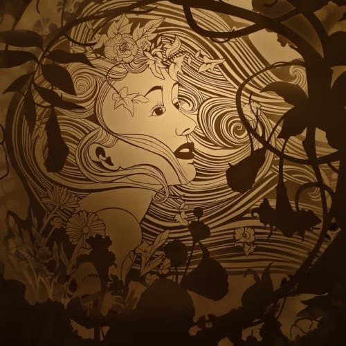 Art & Wall Decor by Brandin Hurley Designs seen at Jackson Junge Gallery, Chicago - Cut Paper Light Box